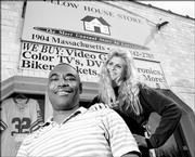 Guy and Carrie Neighbors, owners of Yellow House store, 1904 Mass., have been the subject of a police investigation about whether they've knowingly accepted stolen goods at their resale business. Pawn shops and other resellers have varying levels of precautions to avoid dealing in stolen merchandise.