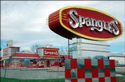 A spangles restaurant is set to open in late April at 3420 W. Sixth St. The successful '50s-style diner is based in Wichita and already has expanded to Topeka.
