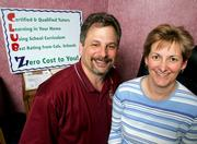 Lew and Sharon Goldfarb own a private tutoring company that contracts with school districts to help children struggling with reading and math. The suburban Columbus, Ohio, couple have 100 tutors working for them, and they attribute much of their business to the 2002 No Child Left Behind Act.