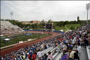 Kansas Relays on Saturday at Memorial Stadium.