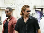 "Jamie Foxx, left, and Colin Farrell appear in ""Miami Vice."""