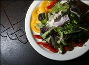 A Salade Bleu is shown at Westside Deli & Bistro, 4931 W. Sixth St.
