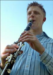 Brian Gnojek, one of Free State High's  valedictorians in 2001, is working on a graduate degree in music at the University of Minnesota.