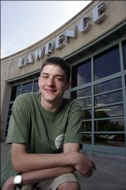 Lawrence High School senior Scott Wedman, who has cystic fibrosis, is ready to graduate and begin college courses this fall.