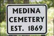 Medina Cemetery, a once-forgotten rural graveyard just west of Perry, is being restored.