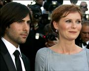"American actors Jason Schwartzman and actress Kirsten Dunst arrive Wednesday for the screening of the film ""Marie-Antoinette"" at the Cannes Film Festival."