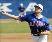 Kansas pitcher Kodiak Quick was the sixth KU player taken in this year's amateur baseball draft. Quick was tapped in the 33rd round by Detroit.