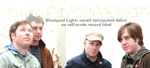 The Blackpool Lights are (from left) Jim Suptic, Thom Hoskins, Billy Brimblecom and Brian Everard.