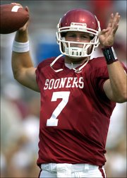 Sophomore quarterback Rhett Bomar could help lead the Oklahoma University football team to the best record in the Big 12 Conference during the 2006 season.