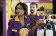 "Rosario Dawson and Brian O&squot;Halloran star in Kevin Smith&squot;s comedic sequel ""Clerks II."""
