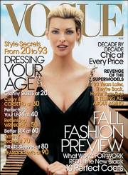 Vogue's August 2006 cover features 41-year-old Linda Evangelista, who is pregnant. While the modeling industry typically concentrates on youth, the supermodels of the'90s aren't disappearing from the scene.