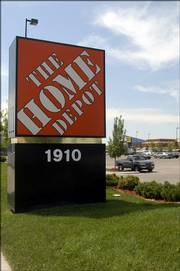 Planners cited the Home Depot/Best Buy development at 31st and Iowa streets as one that did not make good use of materials and color.