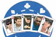 Celebrities like golfer Paul Azinger, actors Tobey Maguire and James Garner, boxer Lennox Lewis and actress Shannon Elizabeth have taken part in the WSOP main event.