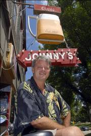 "Rick Renfro, owner of Johnny's Tavern, 401 N. Second St., says a  promotional project for a CBS show called ""Jericho"" could be great news for North Lawrence."