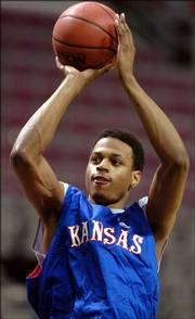 Now-veteran sophomore Brandon Rush.