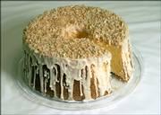 Orange Sponge Cake by Michael Krumm