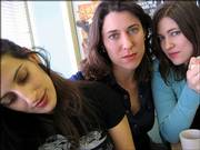 Nicky Mehta, Annabelle Chvostek and Ruth Moody form the Canadian trio, The Wailin' Jennys.