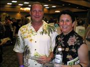 Drs. David and Stephanie Lawhorn participate in the Grand Tasting & Auction, a benefit for Cottonwood Inc.