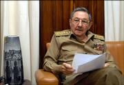 Cuba's acting President Raul Castro