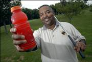 Ramon McAnderson learned the hard way about keeping his body full of liquids while playing golf in the summer heat. McAnderson suffered dehydration during a round on the links in July and was taken to the hospital in an ambulance. McAnderson now drinks plenty of water before golfing and downs sports energy drinks during the game.