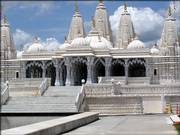 The Shri Swaminarayan Mandir Hindu temple was built in Stafford, Texas, using 3,836 tons of hand-carved Italian marble and Turkish limestone. Stafford is home to 51 churches and religious institutions, leading city officials to worry about the impact on the city's tax base.