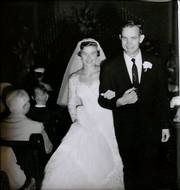 In 1956, the newly married Falens walked up the aisle in Winfield's First Methodist Church.