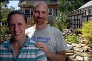 Dave and Lori Werdin-Kennicott are home-improvement types who invest a lot of time on their property in East Lawrence.