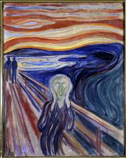 "This version of Edvard Munch&squot;s ""The Scream,"" which was stolen in August 2004 from the Munch Museum in Oslo, Norway, has been recovered. The two Munch masterpieces recovered Thursday were on the FBI&squot;s list of major art thefts. Police said authorities thought the paintings had been in Norway the whole time, but did not reveal how they were recovered."