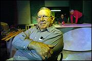 Jack Riegle, pictured above, was last year's recipient of the Phoenix Award for his work at Lawrence Community Theatre.