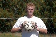 Free State High senior Mitch Morrow does plenty of juggling with both his hands and his feet. In addition to playing multiple positions, including goalkeeper, for the Firebirds' boys soccer team, Morrow also serves as a placekicker for the Free State football team.