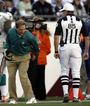 Miami coach Nick Saban was guilty of a coaching blunder before he even took the field: Daunte Culpepper was a bust from the start.