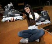 Inline skater Fabiola Da Silva of Brazil has become something of an anachronism. Women are disappearing from alternative sports events such as the X Games.