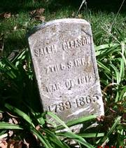 "Salem Gleason was a veteran of the War of 1812 and is buried in Lawrence&squot;s Oak Hill Cemetery. Though Gleason was not a Civil War veteran, history buff John Jackson said his grave marker was rare. ""I&squot;ve only found three War of 1812 tombstones in Kansas so far,"" he said."