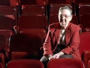 Jane Malin, a longtime volunteer at the Lawrence Community Theatre, won a 2006 Phoenix Award for volunteer in the arts. She is pictured last week at the theater.