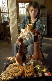 Ceramic artist Laura Ramberg is the featured artist at this year's Bizarre Bazaar.