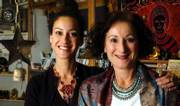 African Adorned owner Elizabeth Kurata, right, will be handing over her business to her daughter Alia Sachedina.