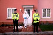 Forensic officers search a house in Eye, England, following the arrest of Tom Stephens, 37, a suspect in the deaths of five prostitutes in Ipswich, northeast of London. The case has prompted comparisons with Jack the Ripper, the notorious Victorian serial killer who murdered at least five East London prostitutes in 1888.