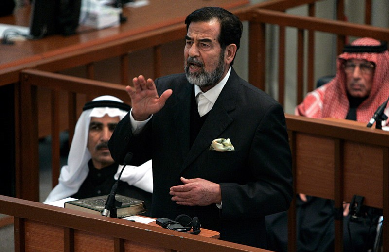 analysis of saddam husseins trial Mechanism for trying saddam hussein on charges of is the most appropriate forum for saddam's trial states for safekeeping and analysis 23.
