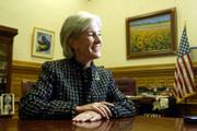 Kansas Gov. Kathleen Sebelius has voiced some support for the building of clean coal plants in western Kansas under certain conditions. Sebelius said on Thursday that the plants could help the state's rural economy.