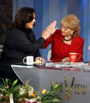 "Since joining ""The View,"" Rosie O&squot;Donnell, left, has made a few controversial comments. Co-host Barbara Walters selected O&squot;Donnell to replace Meredith Vieira, who left the show in the fall."