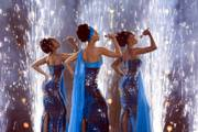 "Beyonce Knowles, Sharon Leal and Anika Noni Rose star in ""Dreamgirls."""