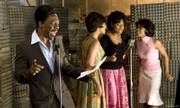 "Eddie murphy, left, plays James ""Thunder"" Early in ""Dreamgirls,"" but former ""American Idol"" contestant Jennifer Hudson, center right, steals the show."