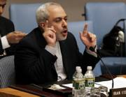 Iran's U.N. Ambassador Javad Zarif denounced the U.N. Security council Saturday for imposing sanctions on Iran for its nuclear program.