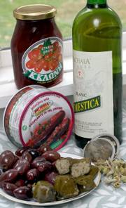 Interest in all things Greek is obvious in the local food market. Olives, stuffed grape leaves, tea, wine and a host of other Greek specialties are becoming more common on the shelves as the new year approaches.