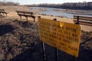 Fish consumption advisories like this one warn against eating of any kind of bottom-feeding fish found in the Kansas River between Lawrence and Eudora. Those kinds of fish contain high levels of PCB, or polychlorinated biphenyl, a toxic substance.