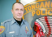 Tonganoxie Police Chief Kenny Carpenter