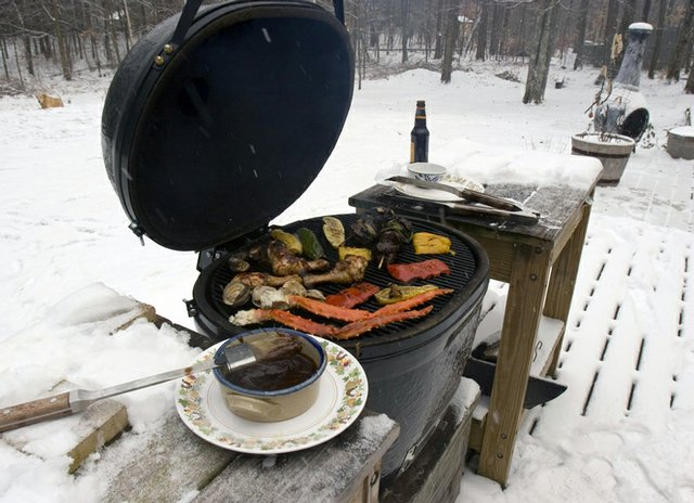Winter Grilling 101 Outdoor Living With Archadeck Of
