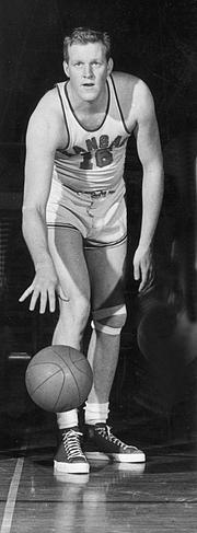 Though he played just three years, Clyde Lovellette is KU's fourth-leading scorer with 1,979 points