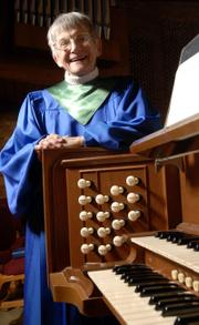 Winnie Gallup is retiring after more than 60 years as organist at First Presbyterian Church.