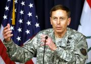 U.S. army Gen. David Petraeus, the new commander of U.S. forces in Iraq, speaks during a news conference in Baghdad, Iraq. Petraeus said Thursday that insurgents in Iraq have sought to intensify attacks during a Baghdad security crackdown, and additional U.S. forces will be sent to areas outside the capital where militant groups are regrouping.